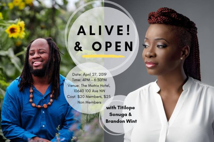 Alive! & Open with Brandon Wint and Titilope Sonuga