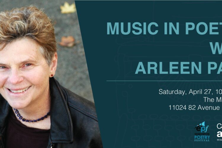 Music in Poetry with Arleen Pare