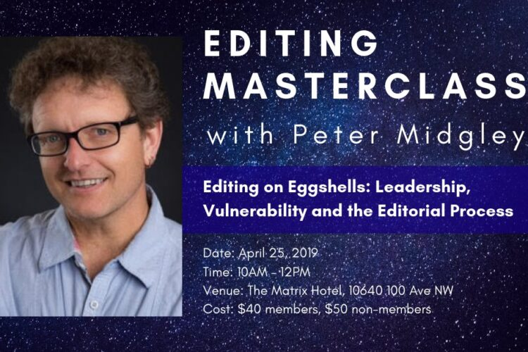 Editing on Eggshells: Leadership, Vulnerability and the Editorial Process with Peter Midgley